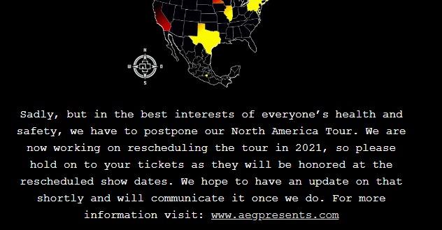Rammstein Norteamerica 2021